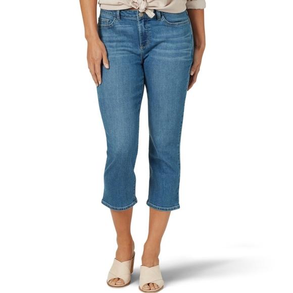 Lee Denim - Lee Modern Series Mid Rise Fit Blue Jeans